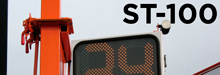 ST100 portable traffic signal from Tower Sign and Signal