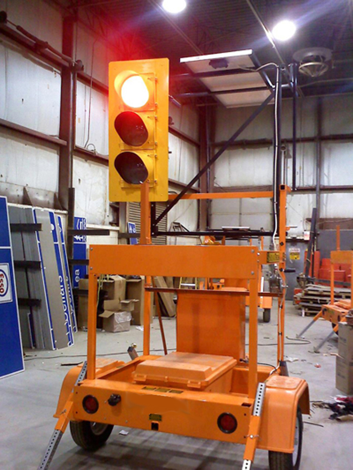 portable traffic signal with great features